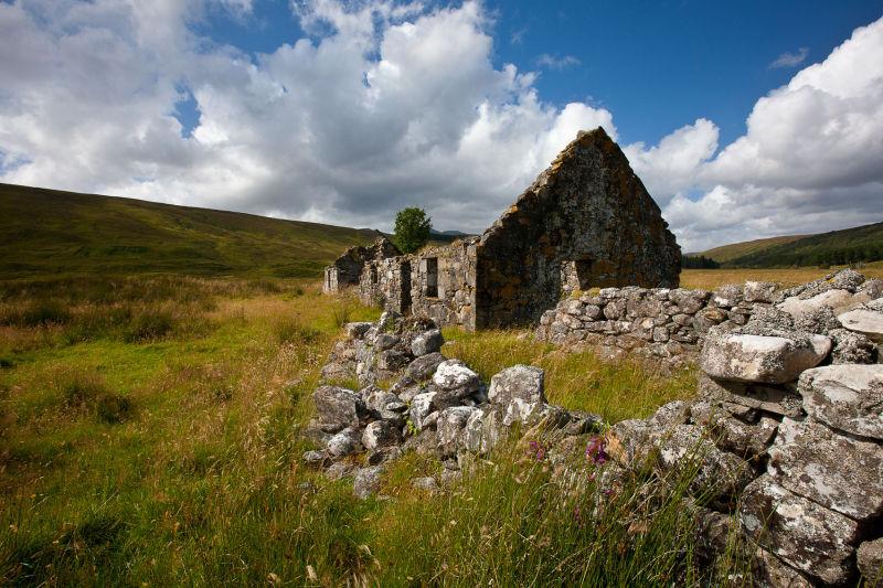 Glen Cassley ruins