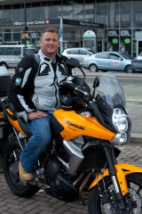 Darren Gough, Cricketer. Client: Kawasaki Motors UK