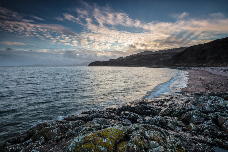Eigneig Bay Sundowning - Ardtornish