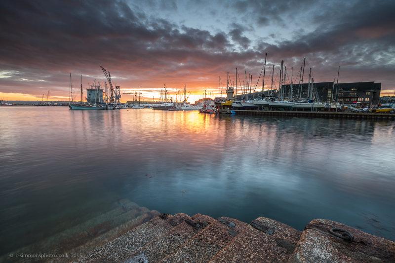 Falmouth Harbour Sunrise - Miller Commercial