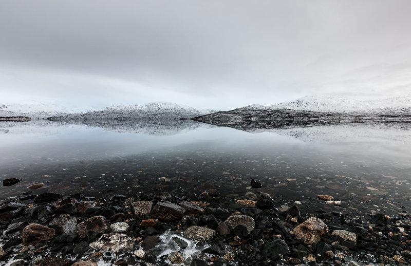 Freezing Fjord Art