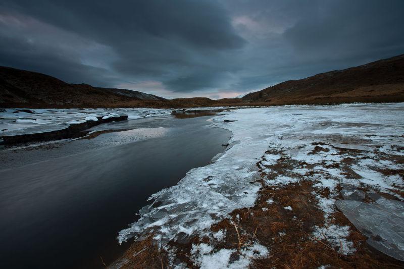 Frozen Loch Textures III