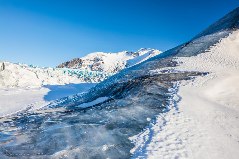 Glacier Ice Textures