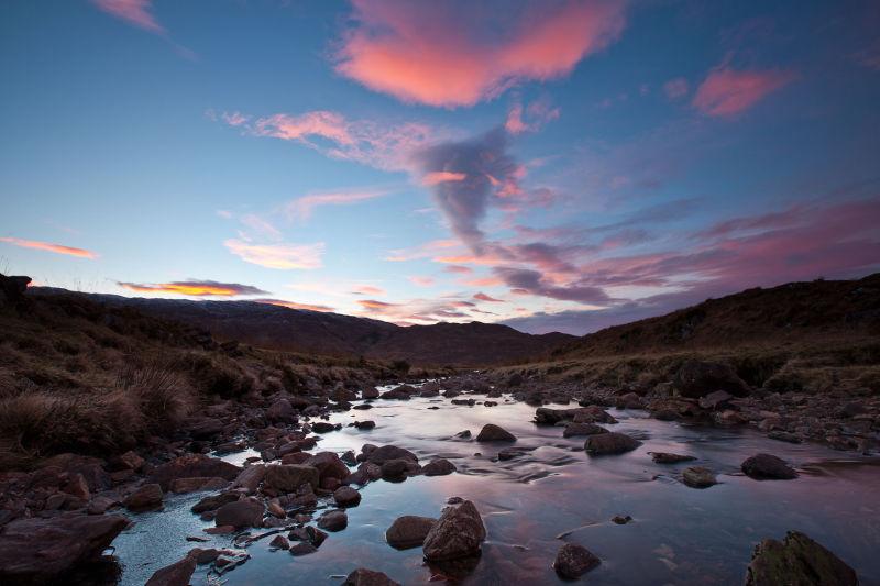 Gleann Dubh - Dawn stream