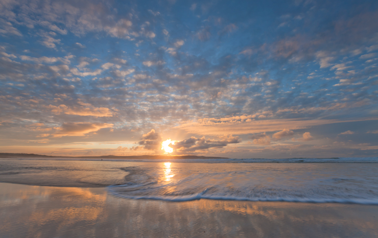 Godrevy Shoreline Sunset