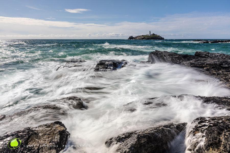 Godrevy Swirling Rocks - rev