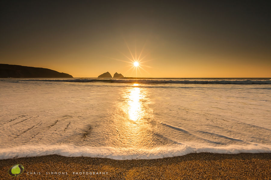 Gull Rocks Sundown Serenity - rev