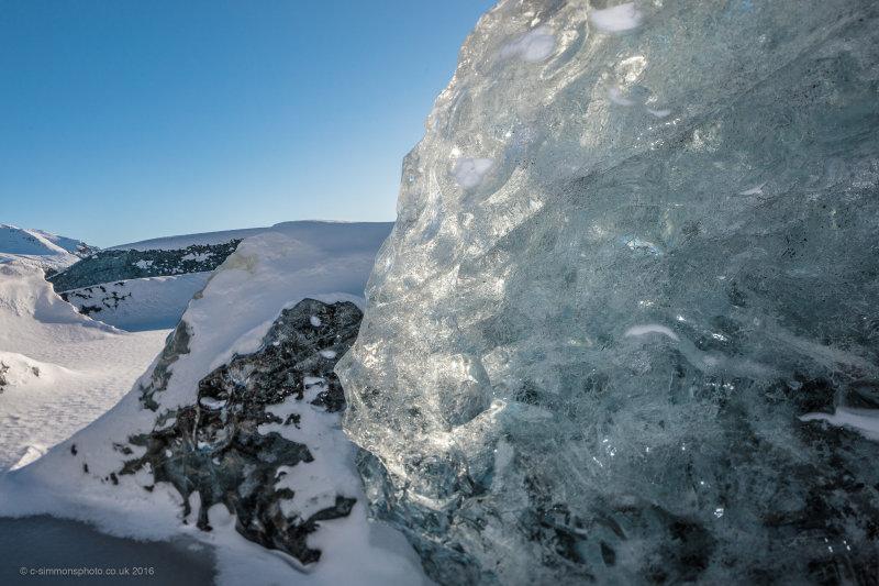 Ice Block Detail