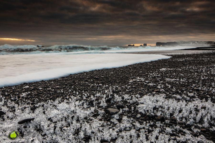 Icelandic Seascape Sunset