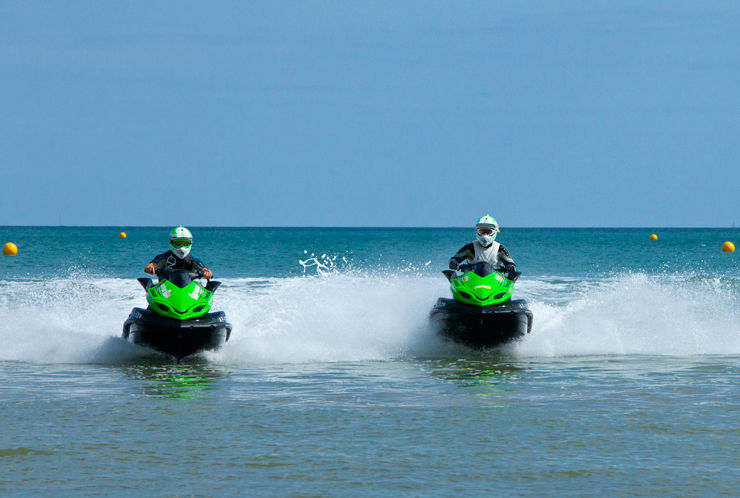 Guinness world record Jet Skiers - Client: Kawasaki Motors UK