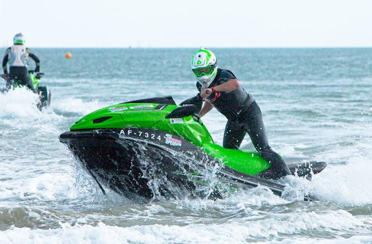 Guinness world record Jet Skiers II - Client: Kawasaki Motors UK