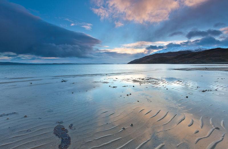 Kingairloch flow tide