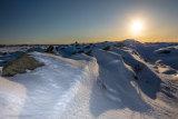 Lava Field Sunburst