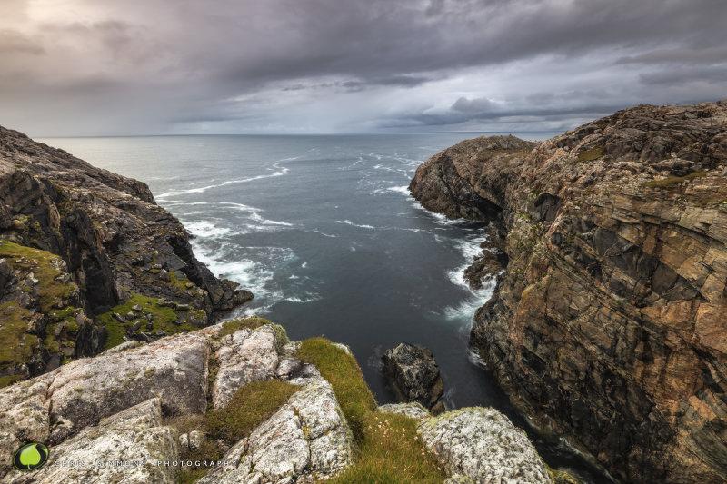 Lewis Autumn Cliffs II