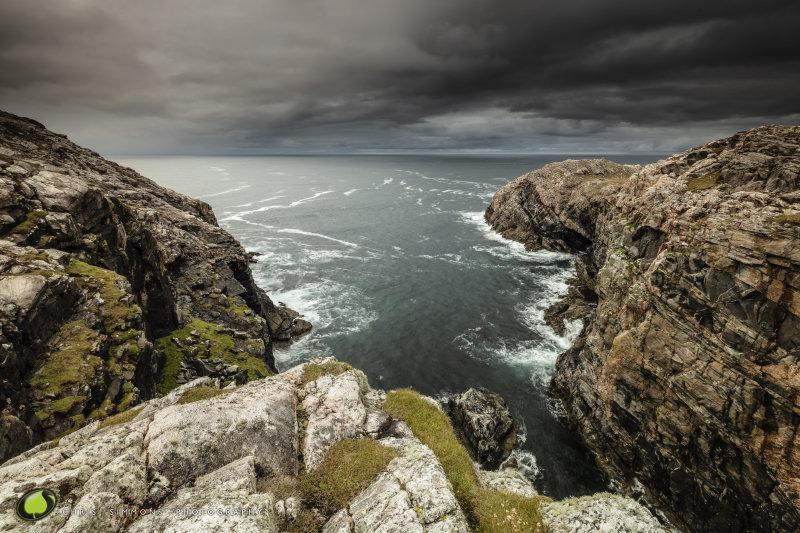 Lewis Autumn Cliffs