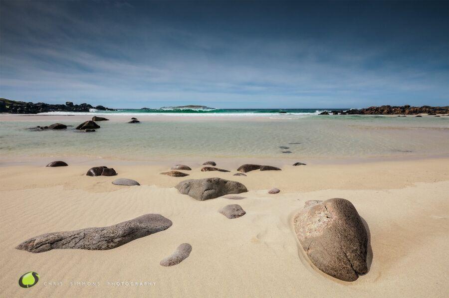 Lewis Bay Sunshine & Rocks