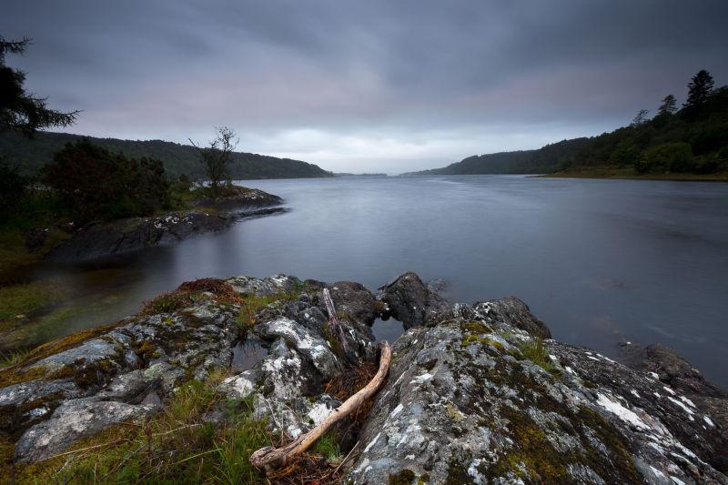 Loch Aline rocks