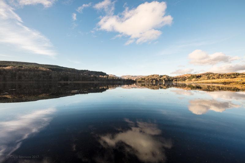 Loch Aline Spring Reflections - Ardtornish