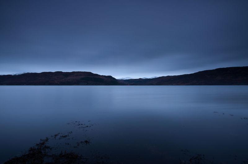 Loch Carron dawn mood