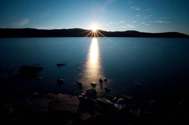 Loch Hope Sunset