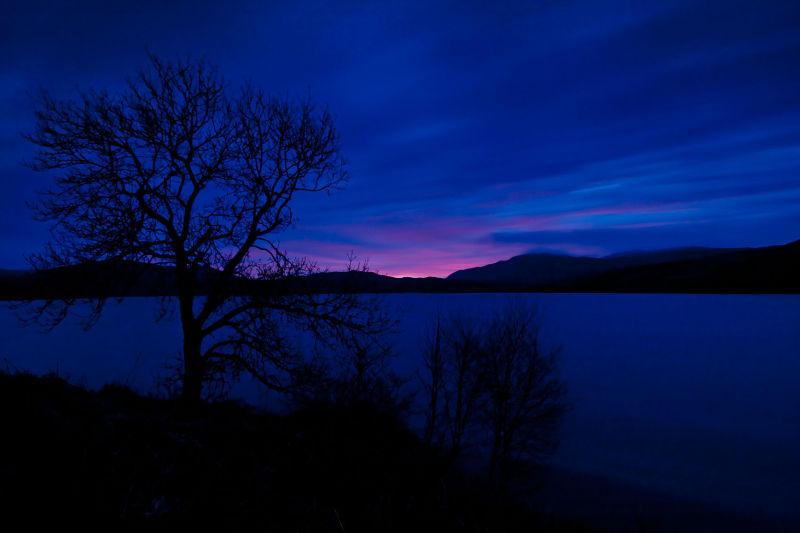 Loch Tearnast Dawning