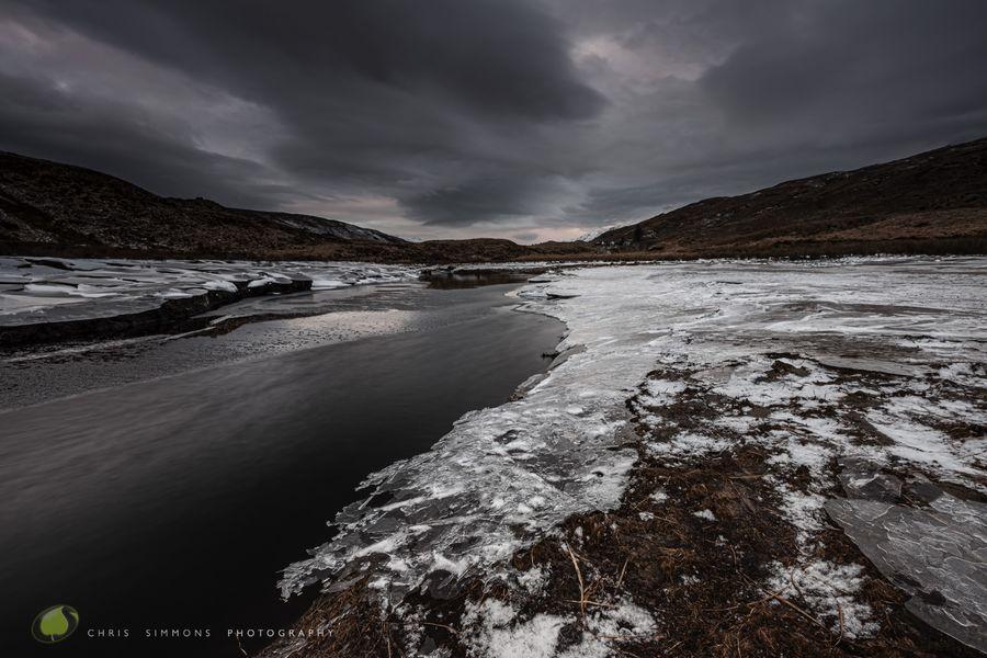 Loch Uisge Frozen Dusk - C