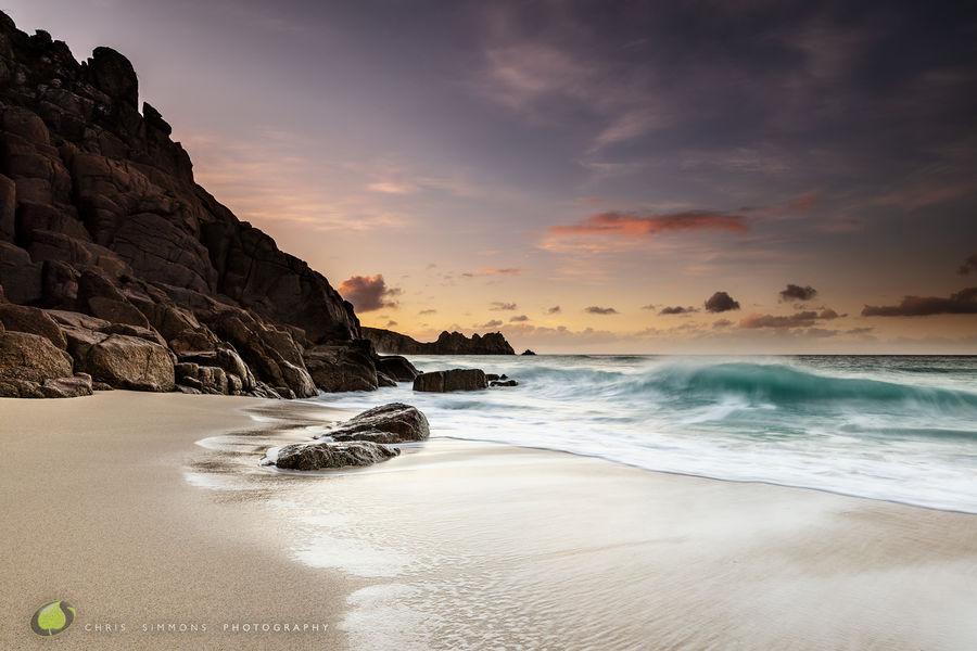 Logan Rock Pastel Daybreak - rev