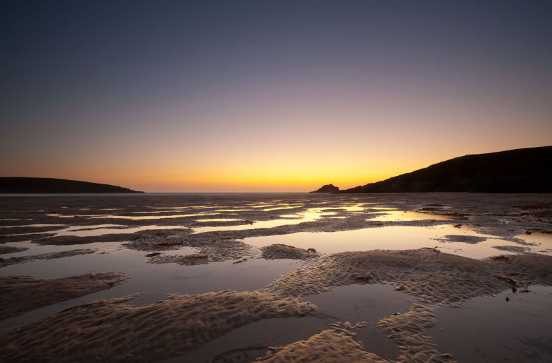 Low Tide Sundown