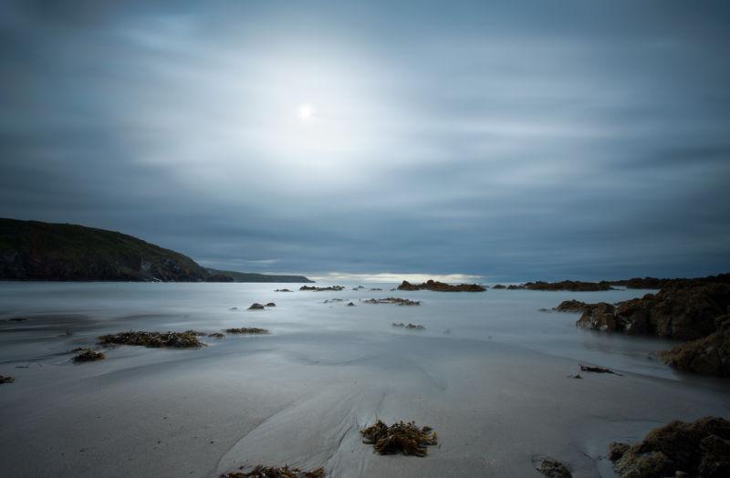Low tide, Kennack