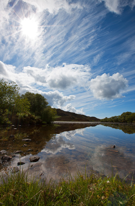 Mares Tails over Lochan