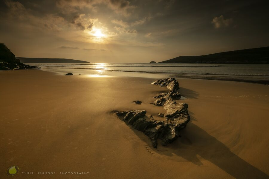May Sundown - Crantock I