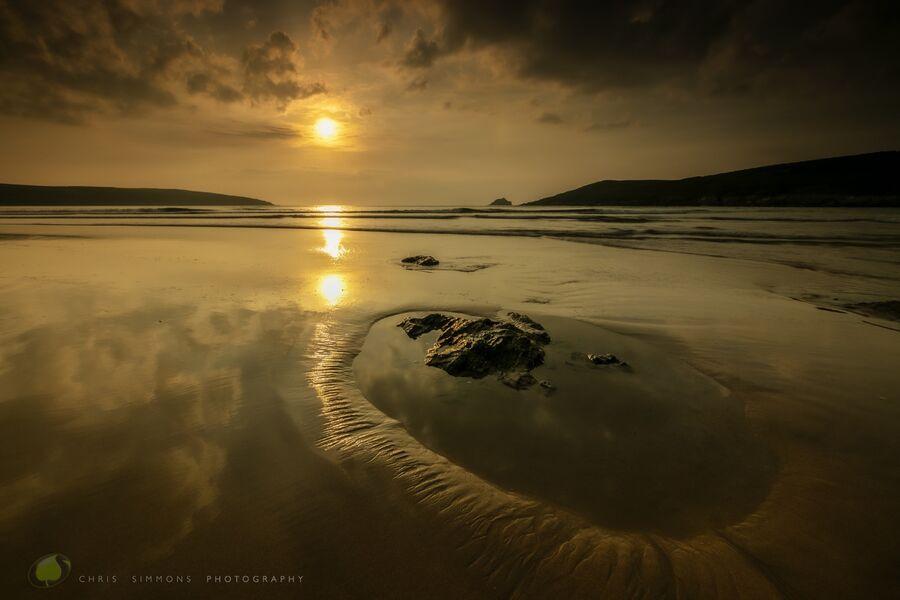 May Sundown - Crantock II