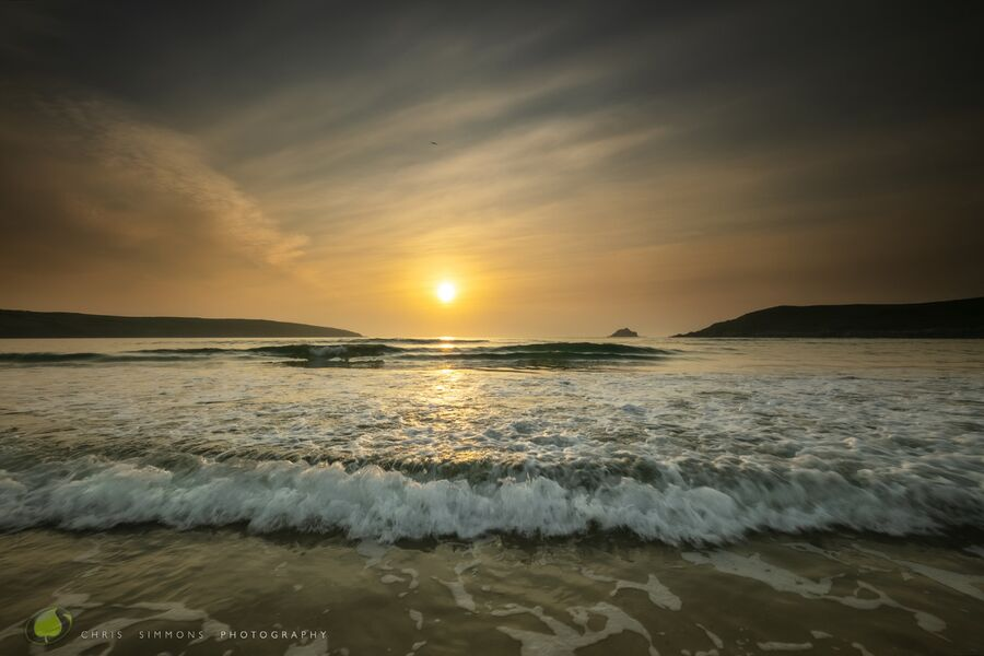 May Sundown - Crantock III