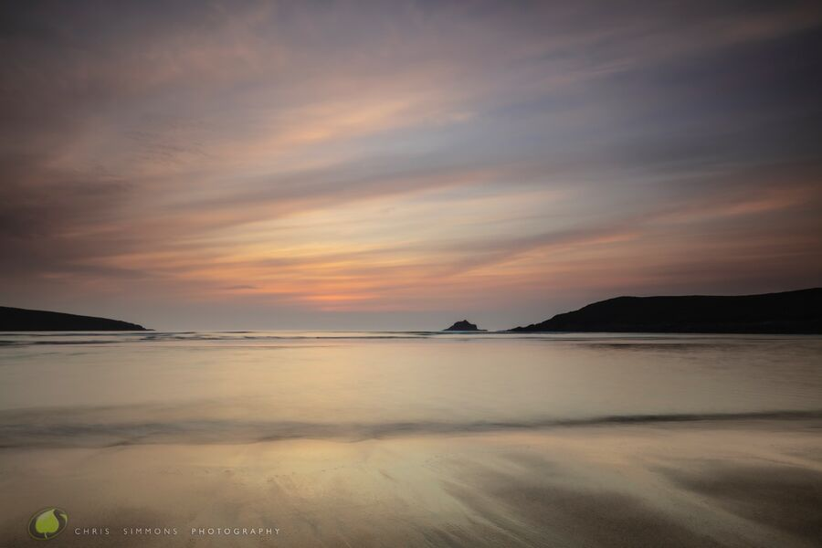 May Sundown - Crantock IV