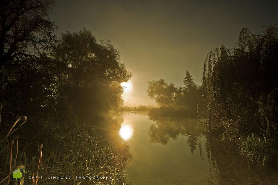 Mill Pond Morning Mist - rev