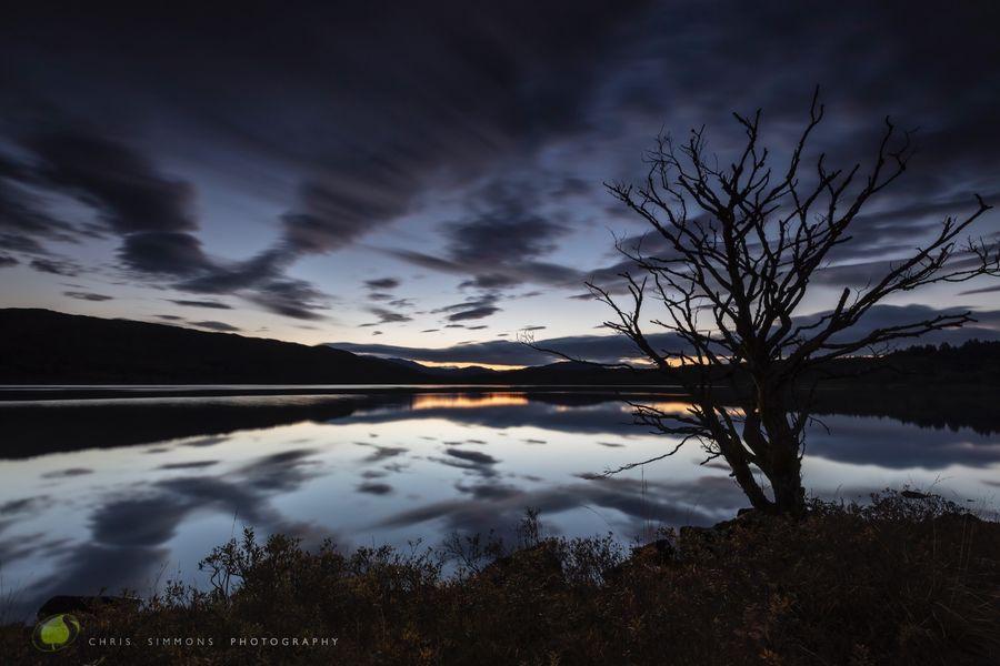 Autumn Loch Dawning