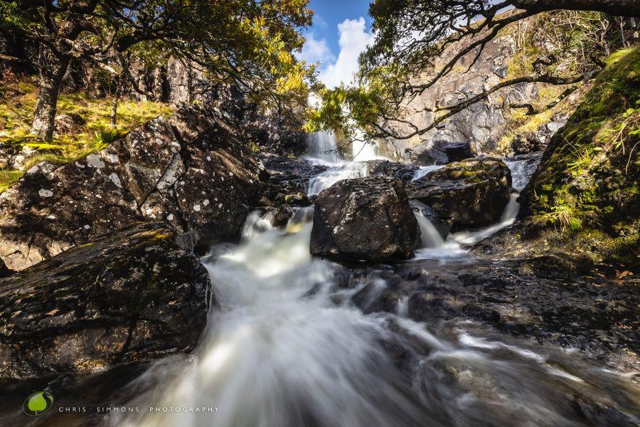 Mull Autumn Falls