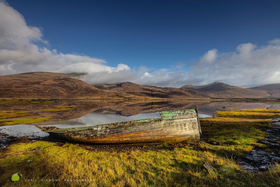 Mull Boat Reflections