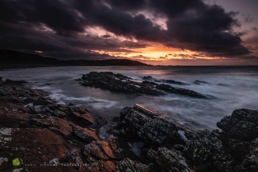 Mull Cove Dawn Rocks