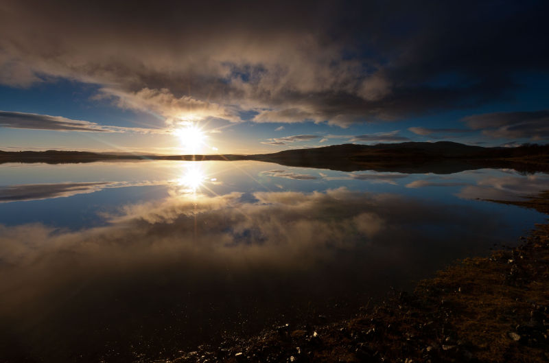 Mull dawn reflections