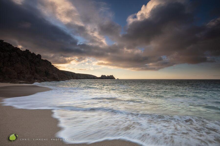 Pastel Cloudscape - Porthcurno