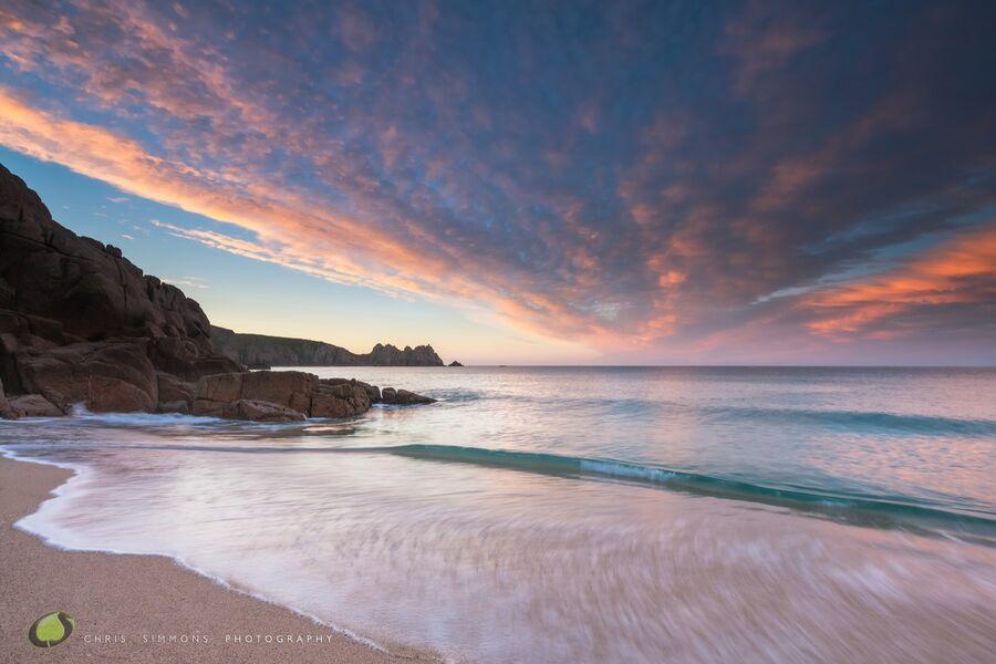 Pastel Daybreak Porthcurno