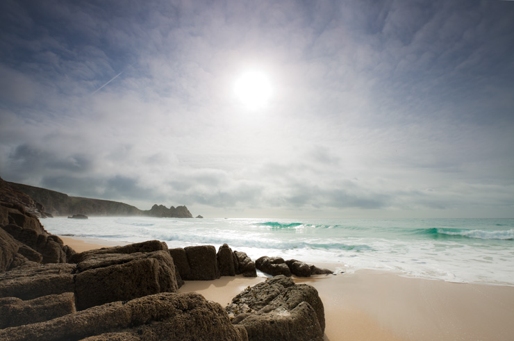 Porthcurno clearing