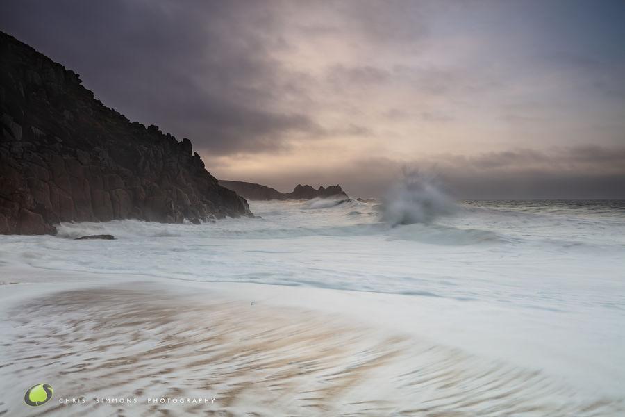 Porthcurno Wave Plume - rev