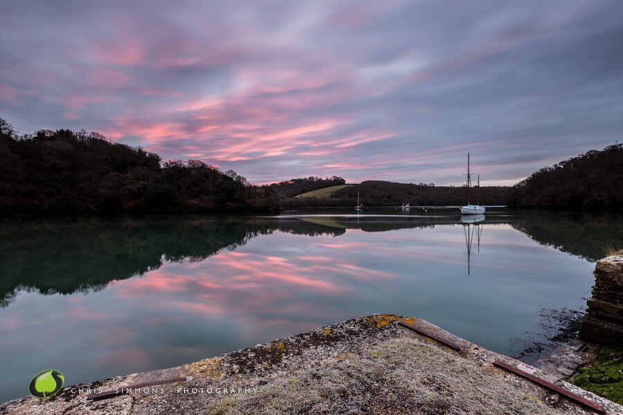 Roundwood Quay Frosted Dawn