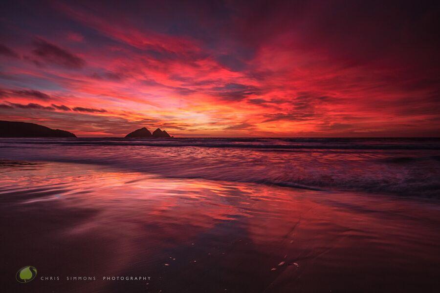 Scarlet Holywell Sundown - (CCArt)
