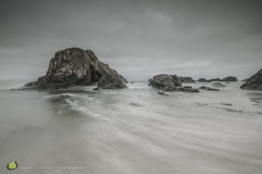 Sea Mist & Rock