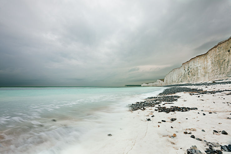 Seven Sisters under approaching squall