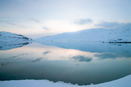 Snow Fjord