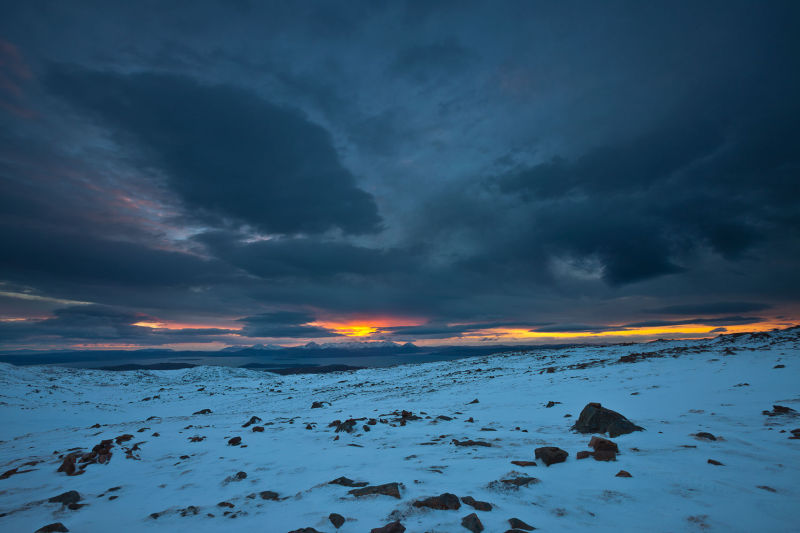 Skye chilled sunset